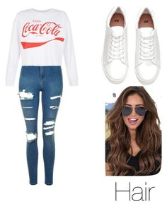 """""""Casual outfit"""" by mikayla714 on Polyvore featuring Topshop and New Look"""