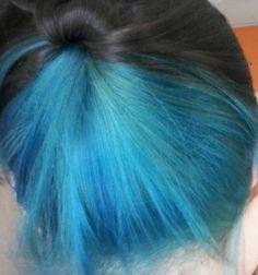 Moje modre vlasy