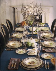 This will be my tablescape one day! Spode's Woodland collection. Was always my favorite at bloomies.