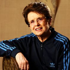"""BE BOLD. if you're going to make an error, make a doozy, and don't be afraid to hit the ball."" Billie Jean King, American tennis player."