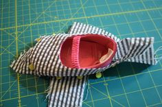How to make pattern pieces for Minky Cape and Boots