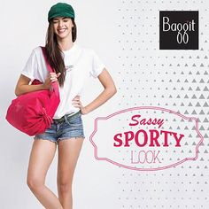 A sporty look adds a touch of cool when you are headed out of town for a picnic with friends or just for a casual day at the mall. Add an element of vivid fashion to your look with #Baggit's neon pink #hobobag that bring's it all together and gets you ready for anything the day can throw at you. #GetTheLook