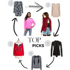 Top Picks | Bow Sweaters
