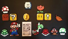 Super Mario Pixel Art by Obsolete Gaming