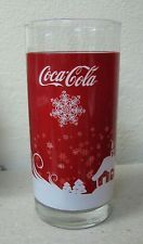 AC - COCA COLA - SNOW NEW RARE GLASS FROM TURKEY