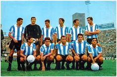 EQUIPOS DE FÚTBOL: SELECCIÓN DE ARGENTINA contra Italia 22/06/1966
