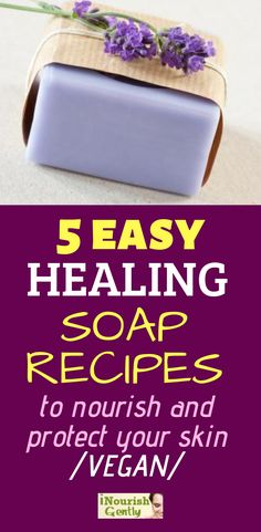 Making your own homemade soap is not as intimidating as it sounds, and the soothing natural effect on your skin is absolutely unparalleled! Natural Sleep Remedies, Cold Home Remedies, Herbal Remedies, Natural Cures, Natural Soaps, Natural Beauty, Homemade Beauty Tips, Homemade Skin Care, Diy Beauty