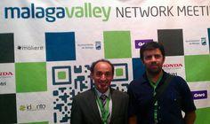 Un año más en Malaga Valley con un gran amigo investigador universitario.