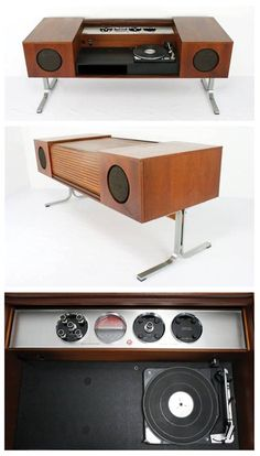 Electrohome Circa 75 (Model-701C) console stereo. http://www.pinterest.com/TheHitman14/the-record-player-%2B/