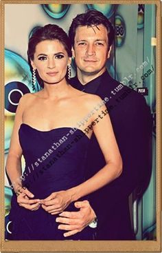 Stana Katic Family | Nathan Fillion & Stana Katic - Nathan Fillion & Stana Katic Photo ...