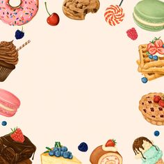 Cupcake Template, Cupcake Vector, Deer Wallpaper, Cake Wallpaper, Logo Dulce, Food Background Wallpapers, Frosting For Chocolate Cupcakes, Candy Icon, Chocolate Texture