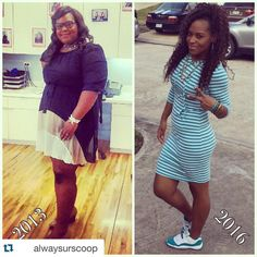 Awesome story! A must read! Diet transformation stories from african american and black women who at TheWeighWeWere.com. Meal Prep and meal plan tips for transformation tuesday.