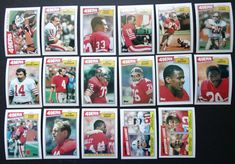 1987 Topps San Francisco Niners Team Set of 17 Football Cards Charles Haley, Football Cards, Baseball Cards, Ronnie Lott, San Francisco 49ers, Ebay, Soccer Cards