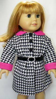 American girl doll Spring coat
