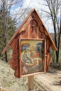 Orthodox Christian Shrines, outdoors.
