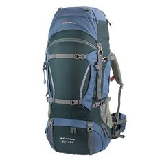 95aba1073d Amazon.com   Mountaintop Tyrannosaurus Outdoor Waterproof Hiking Climbing  Backpack Tarn Blue 65L+10L   Sports   Outdoors