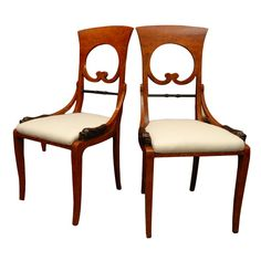 Set Of Four Viennese Side Chairs