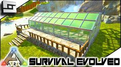 59 best ark survival evolved images on pinterest in 2018 video ark survival evolved building my greenhouse e6 ark ragnarok map malvernweather Image collections