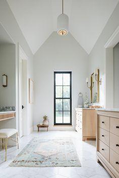 Home Decoration Ideas Interior Design .Home Decoration Ideas Interior Design Style At Home, Master Bathroom Layout, Modern Bathroom, White Bathroom, Kohler Bathroom, Cozy Bathroom, Bathroom Beach, Remodel Bathroom, Bathroom Interior