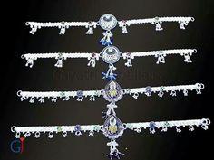 Munnipayal #Silver #anklet #payal #munnipayal #broochpayal #traditional #jewellery #anklets #fashion #style #gj