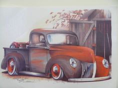 Vintage 1940 Pickup Custom Hot Rod Quality by firelandsteeshirts, $14.99