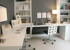 chic home office - Google Search