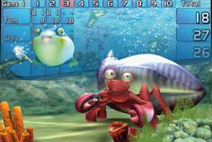 Ocean Environment for Bowler Entertainmen System