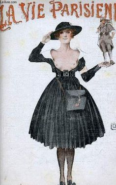 La Vie Parisienne, Samedi 15 Septembre 1917 ~ Georges Léonnec | #LaVieParisienne #Léonnec