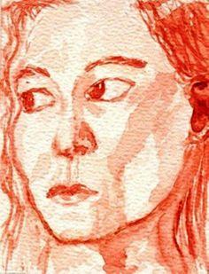 'Misstrauen' von Birgit Schlegel bei artflakes.com als Poster oder Kunstdruck
