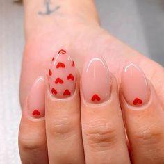Los mejores diseños de uñas para celebrar el dia de los enamorados . San Valentin Nails 2021 #nails #sanvalentin #love #manicura #manicure #hearts #art #amor Perfect Nails, Gorgeous Nails, Pretty Nails, Gorgeous Dress, Aycrlic Nails, Swag Nails, Coffin Nails, Grunge Nails, Nail Manicure