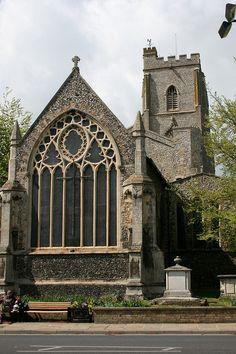 St Mary's, Mildenhall, Suffolk, England