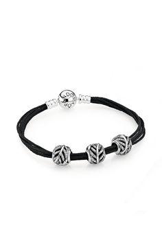 Mypandora Sterling Silver Bangle Bracelet With Sparkling