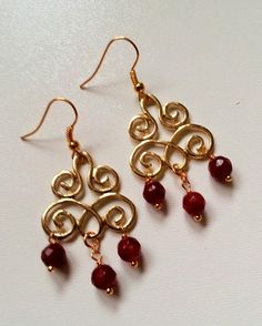 gorgeous handmade earrings