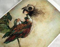 Impressão Giclée Soul of a Bird - A4