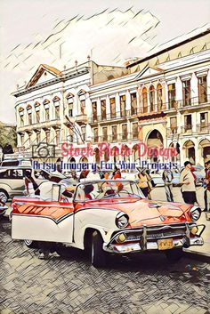 Cuban Car in Havana 1 -