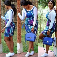 Online Hub For Fashion Beauty And Health: Smart and Lovely Ankara Short Gown For Pretty Ladi...