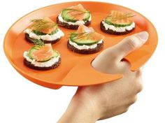 Appetizer Easy Grip Platter