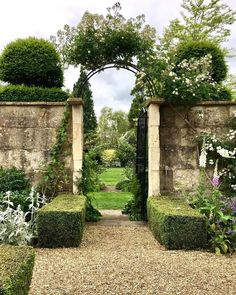 Pergola Connected To House Formal Gardens, Outdoor Gardens, Garden Gates, Garden Tools, Garden Entrance, Le Vieux Logis, The Secret Garden, British Garden, Garden Cottage