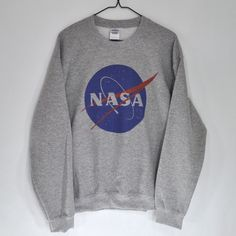 Nasa Meatball Sweatshirt ($34) ❤ liked on Polyvore featuring tops, hoodies and sweatshirts