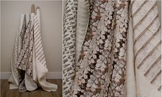 Royal College of Art-trained textile artist specialising in bespoke embroidered fabrics for interior products. Royal College Of Art, Fabric Shop, Textile Artists, Loft, Blanket, Fabrics, Interiors, Inspiration, Shopping