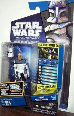 Hasbro Star Wars Clone Wars CW01 Captain Rex New | eBay