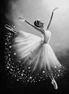 Best Picture For modern Dancing Drawings For Your Taste You are looking for something, and it is goi Ballerina Kunst, Ballerina Painting, Ballet Drawings, Dancing Drawings, Dance Paintings, Cute Paintings, Ballet Art, Ballet Dancers, Ballerinas