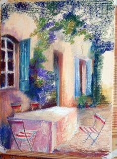 malované pastelem - Hledat Googlem