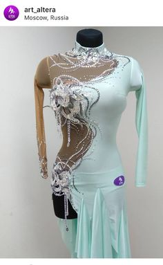 420eee974 Ballroom Dress, Gymnastics Leotards, Dance Dresses, Ballrooms,  Embellishments, Dress Prom,