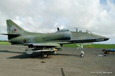 Royal New Zealand Air Force Douglas TA-4K Skyhawk at Ohakea