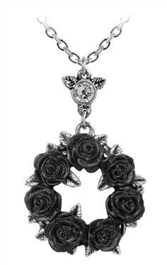 Alchemy Gothic - Ring 'O Roses Pendant