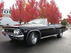 Love this '66 Chevelle SS convertible
