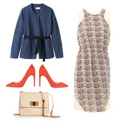 The Pastel Purse Wear it with a printed dress in a similar color family and top with a casual jacket and bright pumps.