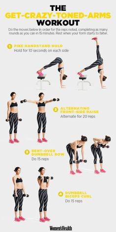 4 Fun Moves to Sculpt Your Upper Body Like Whoa | Women's Health