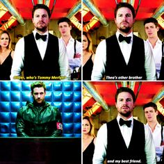 this was so good. Tommy </3. Bless Colin Donnel for coming back for this #CrisisOnEarthX #TommyMerlyn #arrow